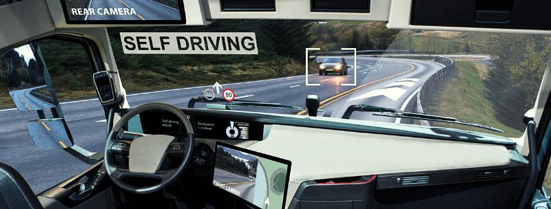 Self-driving truck start-ups